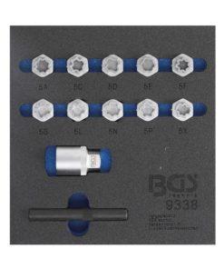 Fälglås-Verktyg-sats för Mercedes-Benz | 12 delar