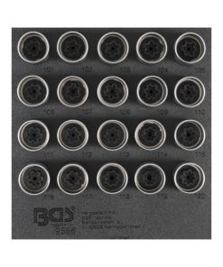 Fälglås-Verktyg-sats för Opel, Vauxhall (Typ A) | 20 delar