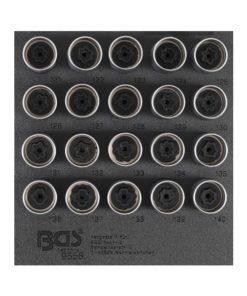 Fälglås-Verktyg-sats för Opel, Vauxhall (Typ C) | 20 delar