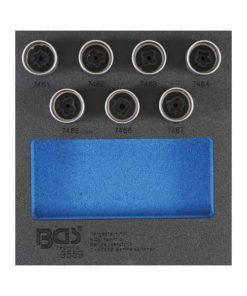 Fälglås-Verktyg-sats för Opel, Vauxhall (Typ D) | 7 delar